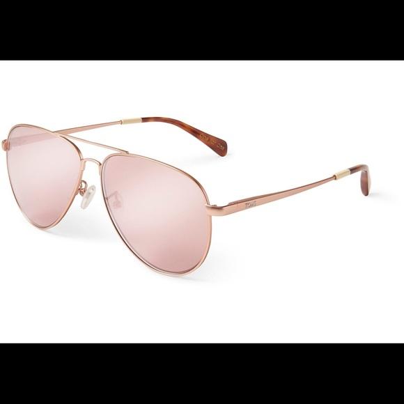 43b9ea5e33db Toms Accessories   Rose Gold Maverick 301 Pilot Sunglasses New ...